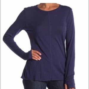 Michael Stars True Blue Thumbhole Top